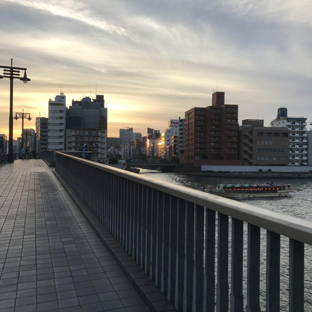 隅田川 夕暮れ